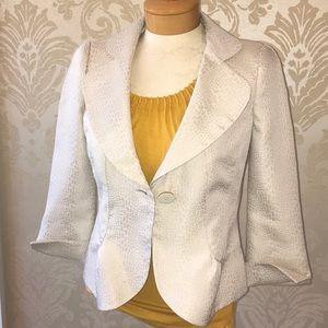 Armani cream jacket size 4